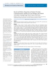 Health Disparities Journal Article