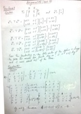 As 1, part b solution