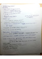 Virulent Phage & Spores Notes