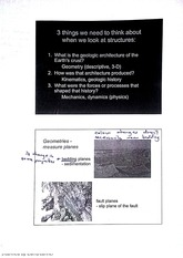 Stuctural Geology Geometries - Measure Planes Lecture Notes