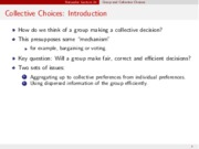 Decisions in Groups notes