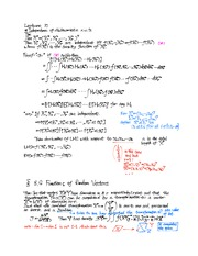 10th Lecture Note on Independence of Multivariate Random Variable