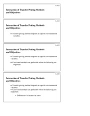 9.4 Objectives of International Transfer Pricing 3