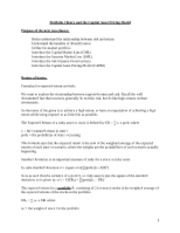 Course Notes MGT338 - Class 8-9