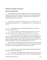 game theory solutions15
