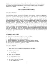 Solution-Manual-for-Introduction-to-Finance-Markets,-Investments,-and-Financial-Management,-15th-Edi