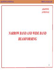 NARROW BAND  AND WIDE BAND BEAMFORMING.pdf