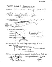 Lecture 19 - Gauss's Law Part I