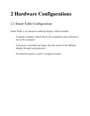 Hardware & Software Configuration Manual