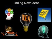 15.Finding Ideas