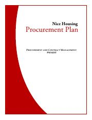 Nice Housing Procurement Plan.pdf