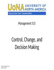 Control, Change, and Decision Making with note pages 0816.pptx