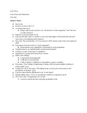 CES notes and Summaries 3.docx