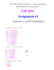 assignment 1 solutions.htm