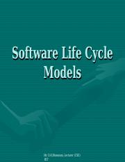 Lect 5 Life cycle models.pps