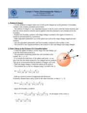 Lecture C Notes on Graduate Electromagnetics
