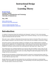 Mergel_Instructional_Design_Learning _Theory
