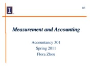 03 Measurement and Accounting