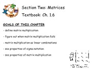 4Matrices - Ch. 1.6