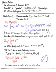 Applications of Quantum Field Theory to Geometry Lecture 5 quantum-mechanics