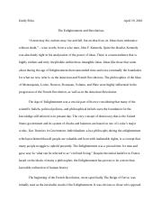 TheEnlightenment and Revolutions.docx