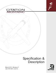 Cessna-Citation-Mustang_Specification_and_Description_March2013