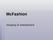 H100 Fashion Powerpoint