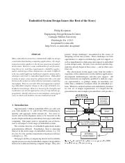 Embedded System Design Issues.pdf
