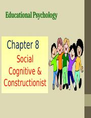 Chapter 8 Social Cognitive  Constructionist.pptx