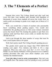 The college pandas sat essay 7 elements of perfect essay pdf 3