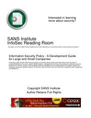 Information Security Policy - A Development Guide for Large and Small Companies.pdf