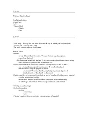 Babette's feast, Cultural and Cuisine Class Notes 5