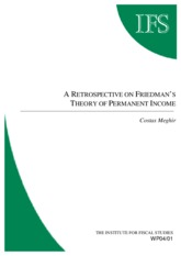 A RETROSPECTIVE ON FRIEDMAN'S THEORY OF PERMANENT INCOME