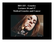 Medical Genetics and Cancer