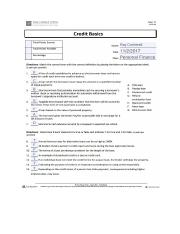 Credit Worksheet.docx