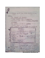 The process of science notes