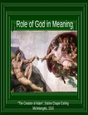 How God Gives Meaning 2016 POST