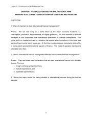 Ch.1 End of the Chapter Solutions