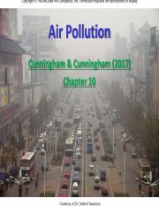 L10 (25 July) Air Pollution (Lam)
