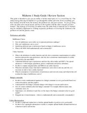 M1 Review Section
