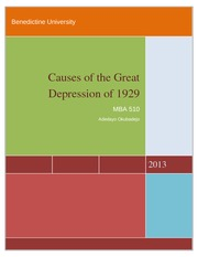 510_WK#4_Causes of the Great Depression of 1929
