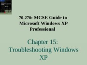 Windows Xp Professional Chapter 15