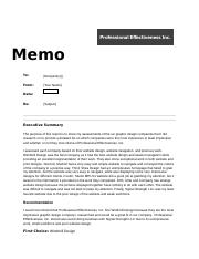 Recommendation memo for Portfolio.docx