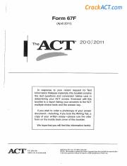 ACT 201104 Form 67F-www.crackact.com