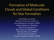 Giant Molecular Clouds Lecture