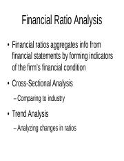 Lecture 4- financial ratios pdf