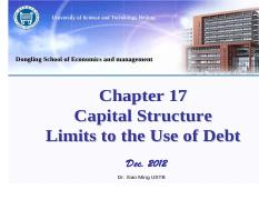chapter 17 Capital Structure Limits to the Use of Debt.pdf