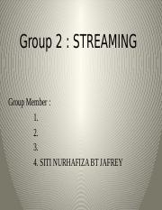 Group 2 . Streaming.pptx