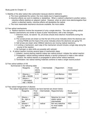 Study guide for Chapter 12