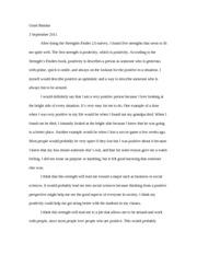 an optimistic person essays